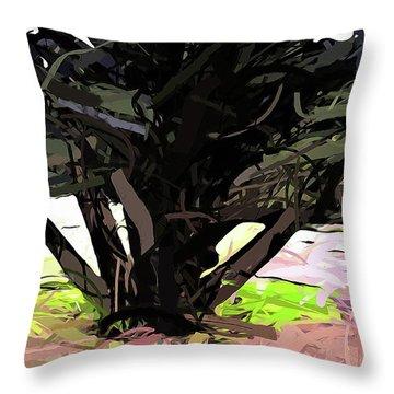 Trees 1 Throw Pillow