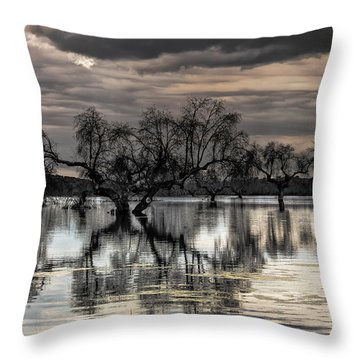 Trees Dream Throw Pillow