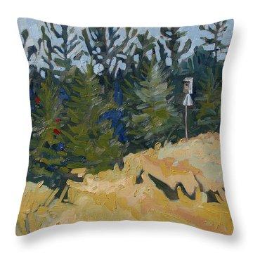 Trees Grow Throw Pillow