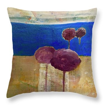 Treescape Throw Pillow