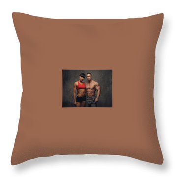 Steve Rogers Throw Pillows