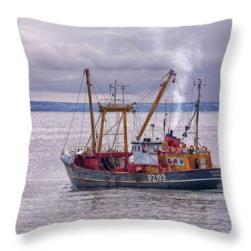 Trevessa Ll Pz193 Throw Pillow