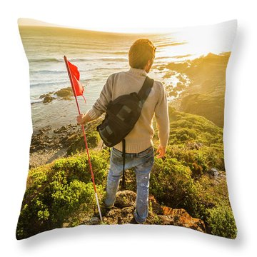 Trials And Triumphs  Throw Pillow
