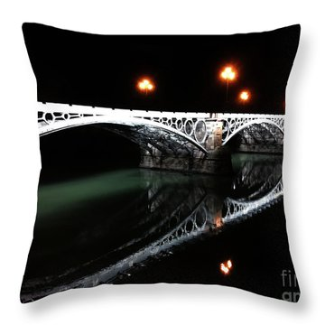 Triana Bridge Throw Pillow