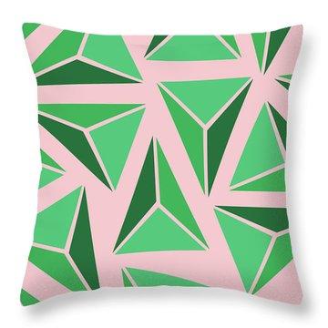 Triangle Geo Throw Pillow