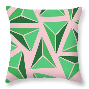Triangle Geo Throw Pillow