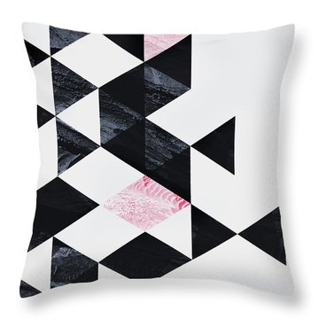 Triangle Geometry Throw Pillow