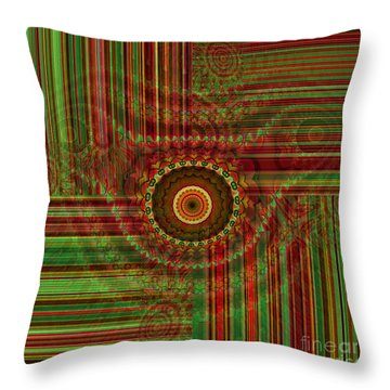 Tribal Drape Throw Pillow