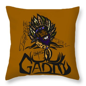 Tribe Of Gad Throw Pillow