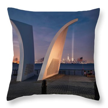 Tribute In Light Throw Pillow by Eduard Moldoveanu