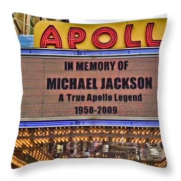 Apollo Theater Throw Pillows
