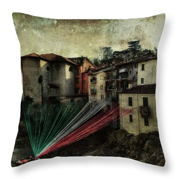 Tribute To Italy Throw Pillow