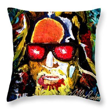 tribute to THE BIG LEBOWSKI Throw Pillow