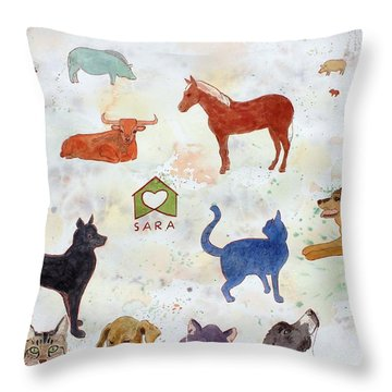 Tribute To Tracy Throw Pillow