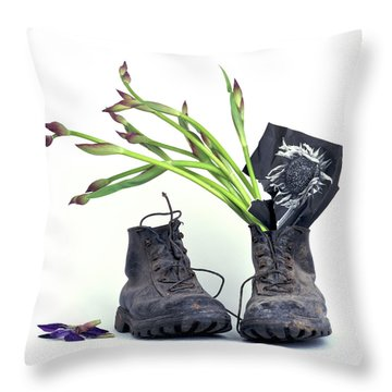tribute to Van Gogh Throw Pillow by Bernard Jaubert