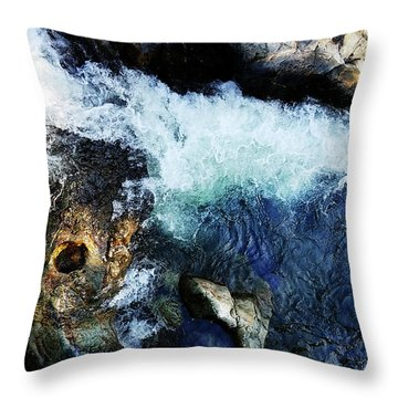 Tribute Trail Newtown Ditch Throw Pillow