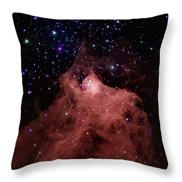 Trigger-happy Star Formation Throw Pillow