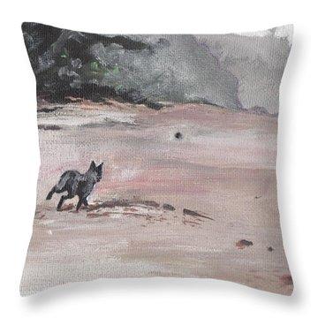 Trigger Throw Pillow by Sarah Lynch
