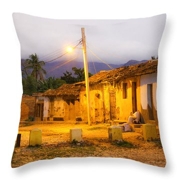 Trinidad Morning Throw Pillow