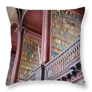 Trinity College 2 Throw Pillow