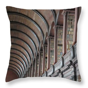 Trinity College 3 Throw Pillow