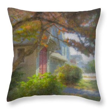Trinity Episcopal Church, Bridgewater, Massachusetts Throw Pillow