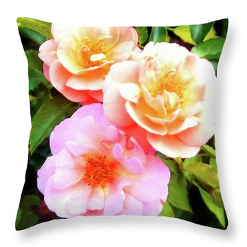 Trinity Throw Pillow by Melinda Dare Benfield