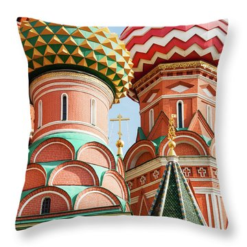 Trinity On The Moat Throw Pillow