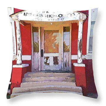 Throw Pillow featuring the photograph Trinity Or Trinidad by Cynthia Powell