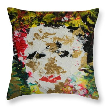 Trinity Panel One Throw Pillow