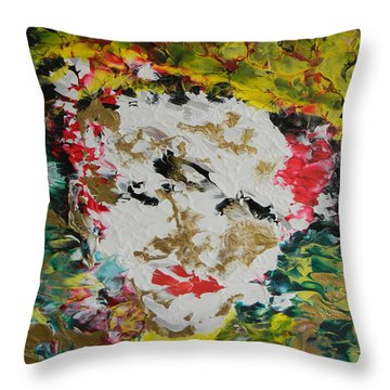 Trinity Panel Three Throw Pillow