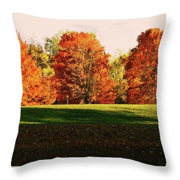 Trinity Trees Throw Pillow