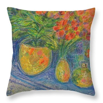 Trinkets Throw Pillow