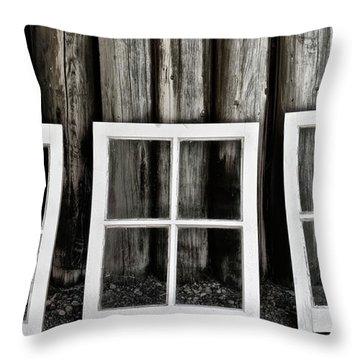 Throw Pillow featuring the photograph Trio by Brad Allen Fine Art