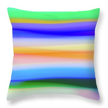 Trip Seat No. 2 Throw Pillow