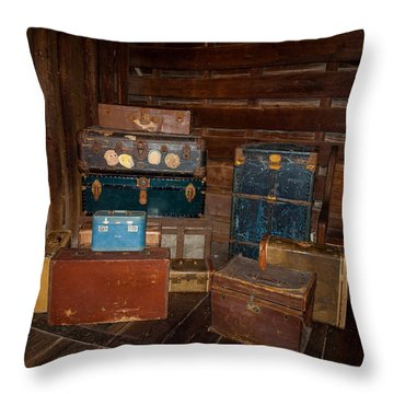 Trip Time Throw Pillow