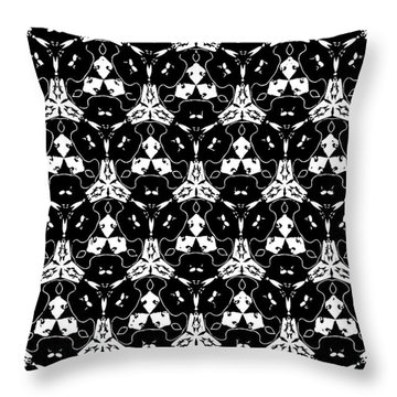 Triple Lace Throw Pillow