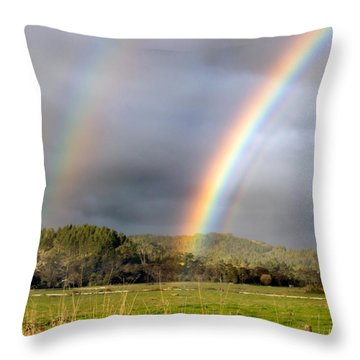 Triple Promise Throw Pillow