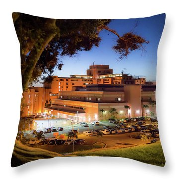 Tripler Army Medical Center Throw Pillow