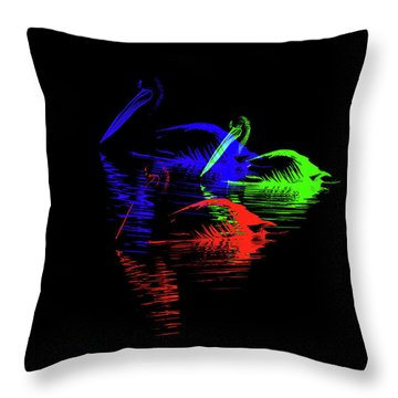 Tripolar Throw Pillow