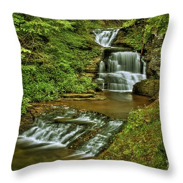 Tripple Decker Throw Pillow by Evelina Kremsdorf