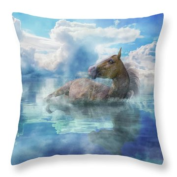 Triumph  Throw Pillow