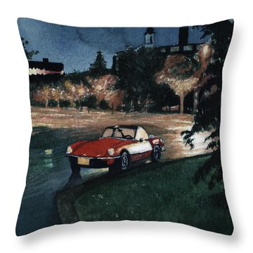 Triumph By Night Throw Pillow