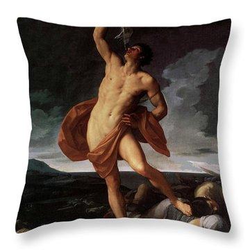 Triumph Of Samson Throw Pillow