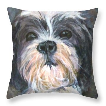 Trixie Throw Pillow