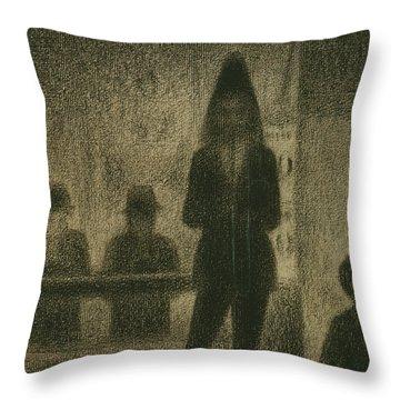 Trombonist  Throw Pillow
