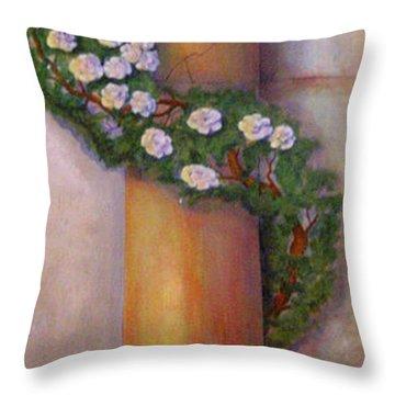 Trompe L'oeil  Column Throw Pillow