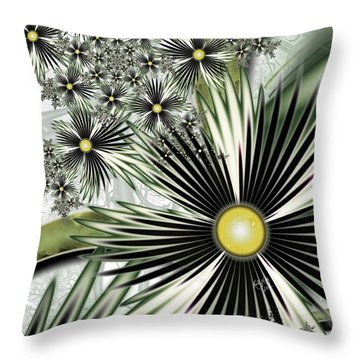 Tropica Throw Pillow