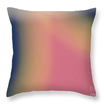 Tropical Abstract Throw Pillow by Alexander Van Berg