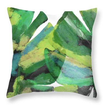 Tropical Dreams 1- Art By Linda Woods Throw Pillow